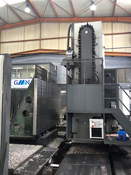 GM Norte centro de mecanizado Zayer